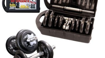Unboxing CAP Barbell 40 Pound Dumbbell Set