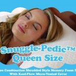 Snuggle-Pedic Bamboo Shredded Queen Memory Foam Pillow Reviews
