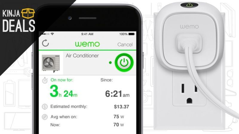 Save $20 on the Energy-Monitoring Belkin WeMo Insight Switch