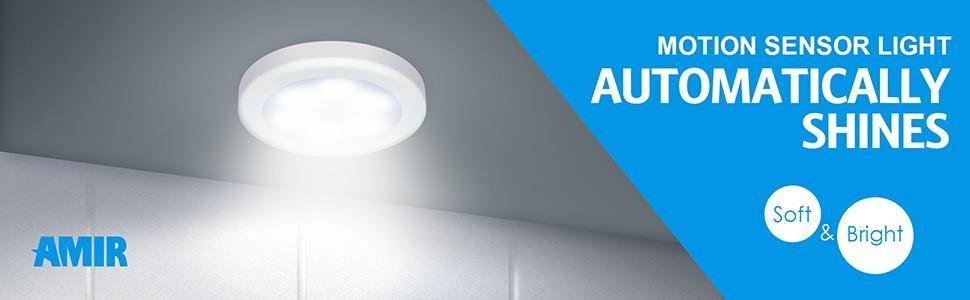 Amir Motion Sensor Light Cordless Battery Powered Led Reviews